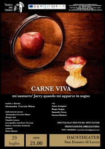 Locandina Carne viva 29 07 2019 haus