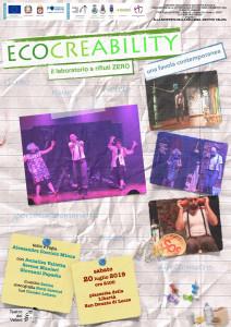 Locandina Ecocreability 20 07 2019 San Donato