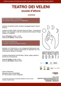 Manifesto workshop ottobre 2018
