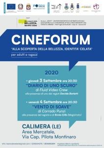 CINEFORUM CALIMERA SETTEMBRE 2020